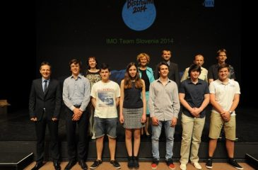 Imo team Slovenija 2014 z mentorji objava